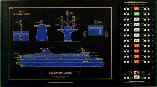 Navigation Light Mimic